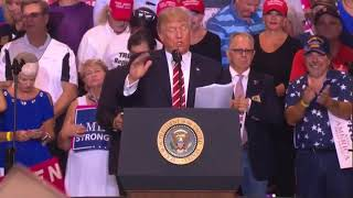 Donald Trump full speech from divisive rally in Phoenix