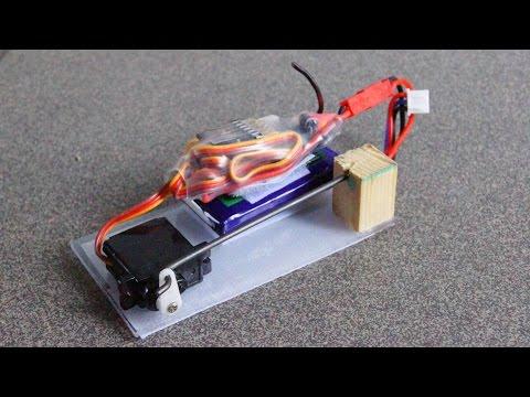 Remote Control Drop Mechanism From Servo (DIY)