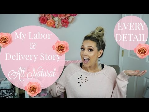 My AMAZING Labor & Delivery Story!!! ALL NATURAL| Baby girl name reveal| Tres Chic Mama