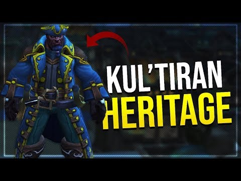 Kul'tiran Human Heritage Armor Set?   Long Coats Finaly Coming To World of Warcraft? In-game Preview