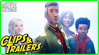 SPIDER-MAN: INTO THE SPIDER-VERSE | All release clip compilation & trailers (2018)