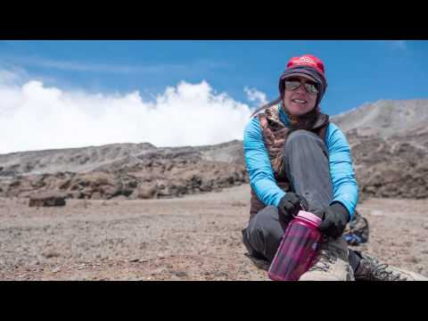 Lindsay Mitchell climbs Mt. Kilimanjaro to help end slavery and oppression.