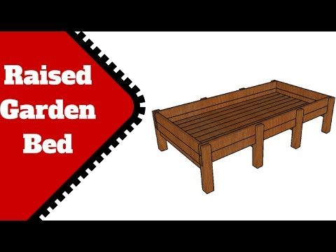 Cedar Raised Garden Bed Plans Free