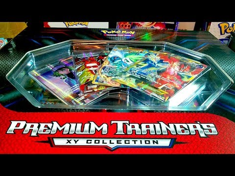 AMAZING NEW POKEMON PREMIUM TRAINERS XY COLLECTION BOX OPENING! 14 FULL ARTS!