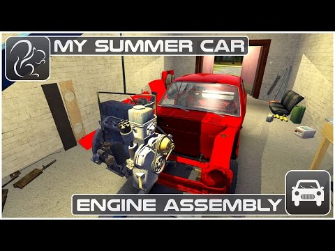 My Summer Car - Engine Assembly