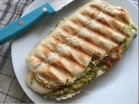 Panini Pesto Mozzarella - Episode 178 - Baking with Eda