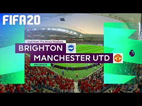 FIFA 20 - Brighton & Hove Albion vs. Manchester United @ Amex Stadium