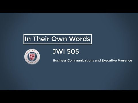 In Their Own Words - JWI 505 Retreat 2018