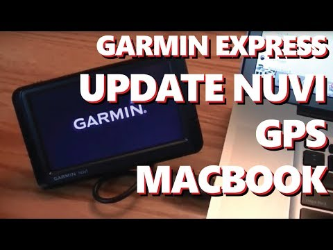 Garmin Nuvi GPS Software Update Apple Mac Macbook Pro