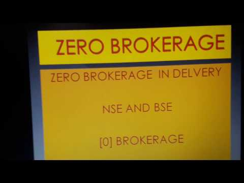 ZERO BROKERAGE  NSE BSE.ONLINE EASY TRADE