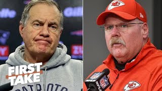 Andy Reid can't afford to lose to Bill Belichick in AFC Championship - Max Kellerman   First Take