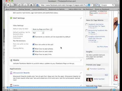 How to customize your facebook fan page (part 2)