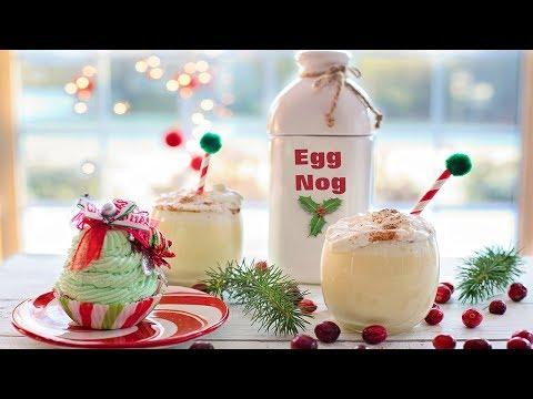 HOW TO MAKE EGGNOG - Delicious, Creamy, Yummy, Soo Easy!