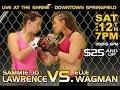Elle Wagman Vs Sammy Jo Lawrence Adrenaline Fight League Fig