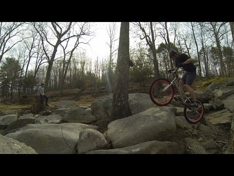 Bike Trials: Seven Falls Winter 2014