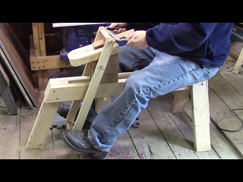 Shaving Horse from 2X4's