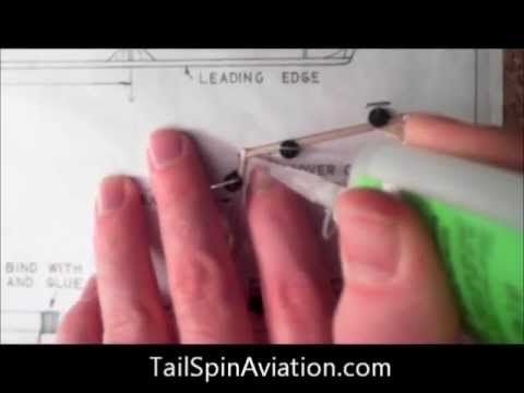 How to Build a Rubber Powered Model Airplane Part 1
