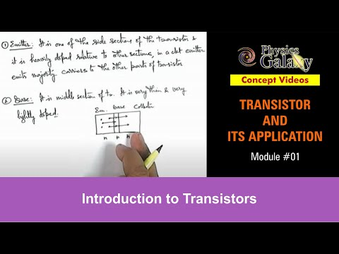 1. Class 12 Physics | Transistor And Its Application | Introduction to Transistors