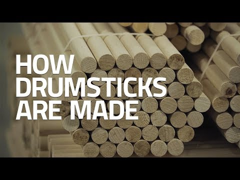 How Drumsticks Are Made