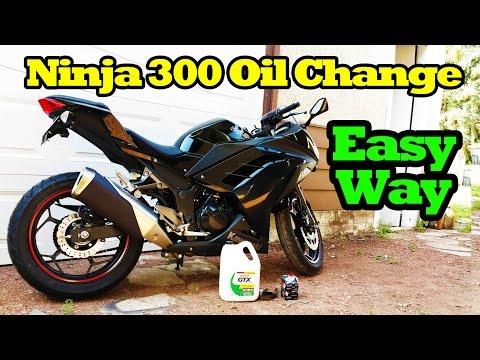 Kawasaki Ninja 300 Oil Change