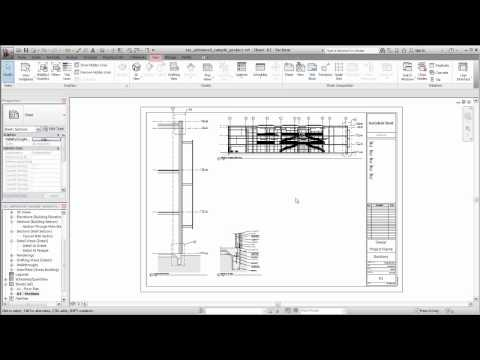 Autodesk Revit: Creating Sheet Views