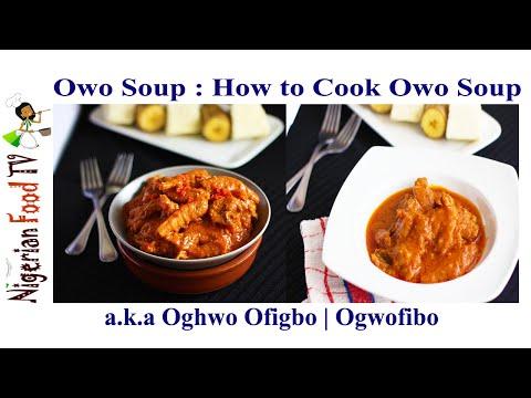 Owo Soup recipe: How to Cook Ogwo Ofibo Sauce(Bini style)