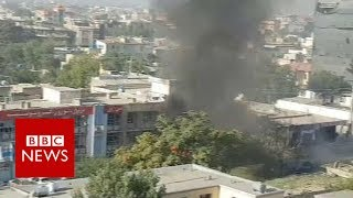 Kabul car bomb: Suicide attack in Afghan capital - BBC News