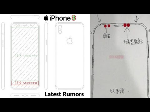 NEW iPhone 8 Sketches leaked! - iPhone 8 Rumors