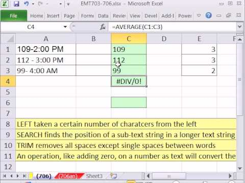 Excel Magic Trick 706: Extract Number From Cell With A Time, A Dash and A Number