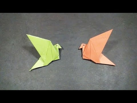 How To Make an Origami Flapping Bird | Paper Flapping Bird Instructions