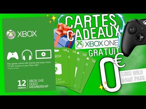 Code Carte Xbox Gratuit.Avoir Des Codes Cartes Cadeaux Xbox One Game Pass Xbox