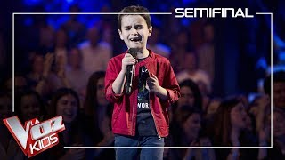 Daniel García canta 'El Mundo'   Semifinal   La Voz Kids Antena 3 2019