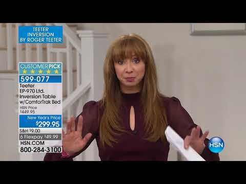HSN | Teeter Inversion Fitness Solution 01.15.2018 - 11 PM