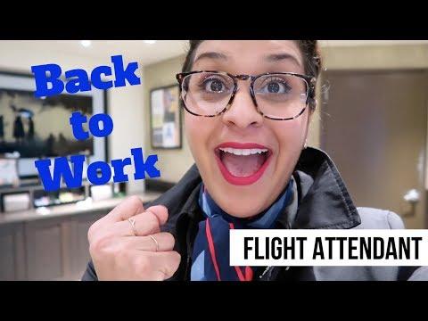Its Fun Being a Flight Attendant  |  VLOG 56