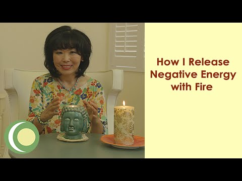 How I Release Negative Energies with Fire