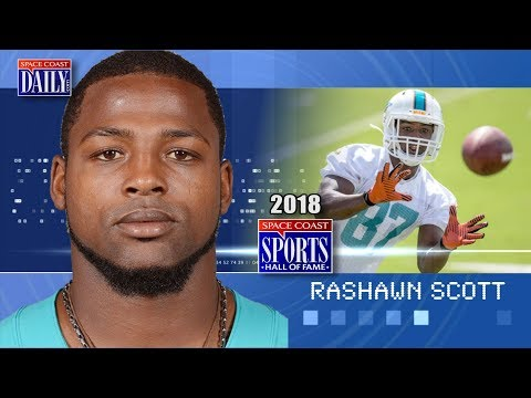 Rashawn Scott: 2018 Space Coast Sports Hall of Fame