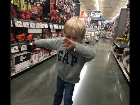 My 4year Old Wants to Call Cops on His Dad || Being Crazy in Walmart