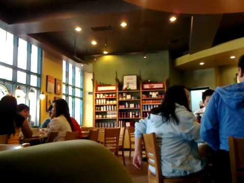 Inside a Starbucks coffee shop
