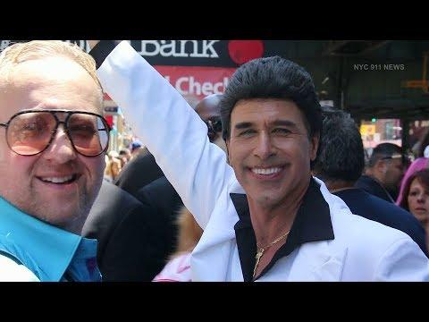 John Travolta makes Brooklyn appearance