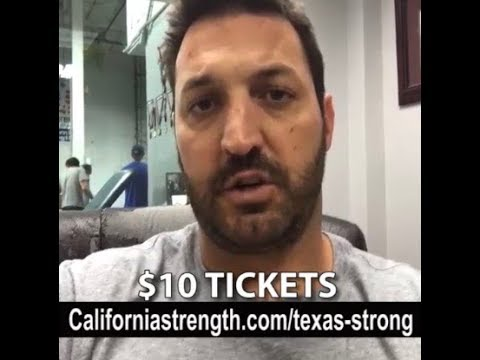 Texas Strong Raffle - We Need Your Help!