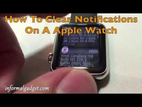 How-To Clear All Notifications At Once On The Apple Watch