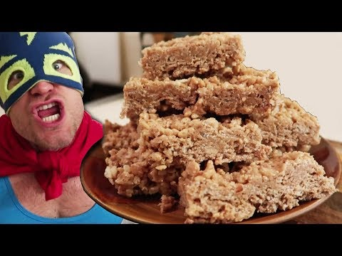 Homemade Protein RICE KRISPIES Recipe (They're EXTREME)