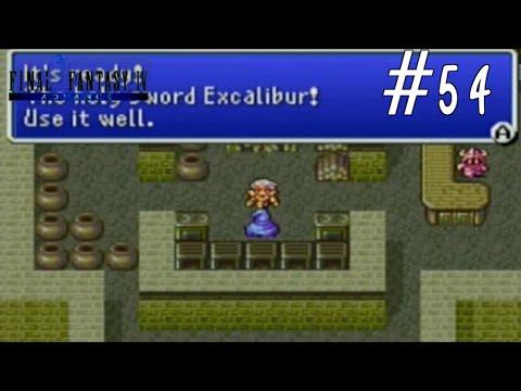 Let's Play Final Fantasy IV Advance Episode 54: Excalibur