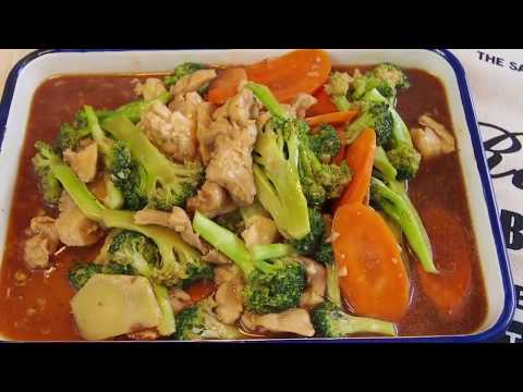 How to cook in 15 mins? Easy Chicken and Broccoli  西兰花炒鸡丁