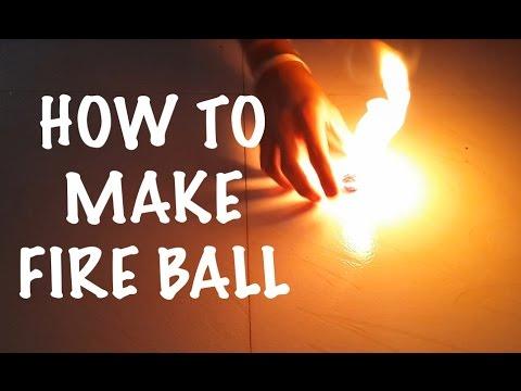 how to make fireball/handheld fireballs tutorial