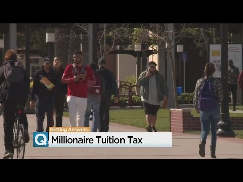 Tax On Wealthy Would Fund Tuition For California College Students