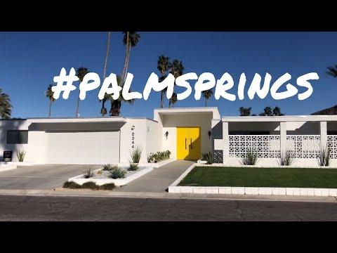 PALM SPRINGS MODERNISM WEEK 2018 - VLOG