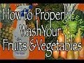 Kill 98% of Bacteria on Fruits and Veggies with this Tip - Green Smoothie - Green Regimen