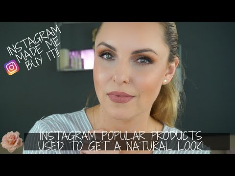 How To Use Instagram Popular Makeup 4 a Natural Wearable Look || Instagram made me buy it