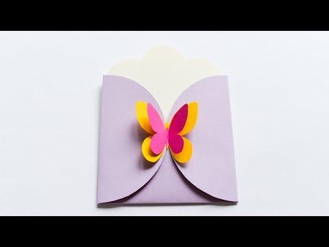How to make : Greeting Card Envelope | Kartka Okolicznościowa Koperta - Mishellka #226 DIY